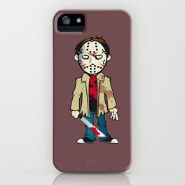 Jason of the Killer Lake iPhone Case