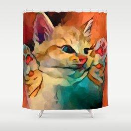 Kitten 2 Shower Curtain