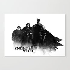 The Knight's Watch Canvas Print