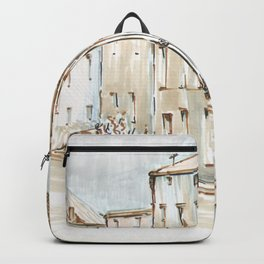 House Sketch Color Backpack
