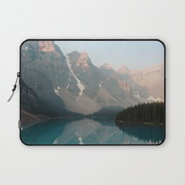 Sunrise over Moraine Lake Laptop Sleeve