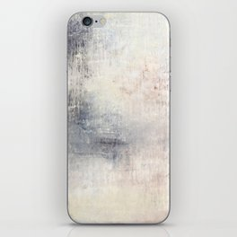 """1198 abstract beige/silver wall"" iPhone Skin"