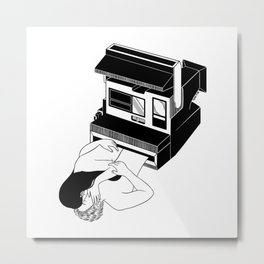 Instant Love Metal Print