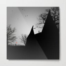 The Old Oasthouse Metal Print