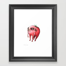 tomato baby Framed Art Print