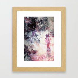 Hades and Persephone: First encounter Framed Art Print