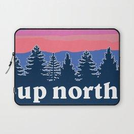 up north, pink hues Laptop Sleeve