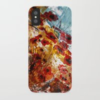 poppies iPhone & iPod Cases featuring Poppies by James Peart
