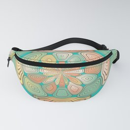 Tropical color abstract Fanny Pack