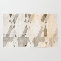 concrete Area & Throw Rugs featuring  Background concrete by Tony Vazquez