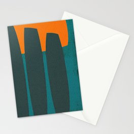 Indigenous Peoples in Easter Island Stationery Cards