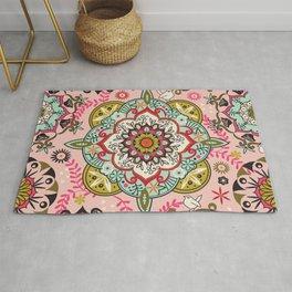 Mandala color pattern Rug