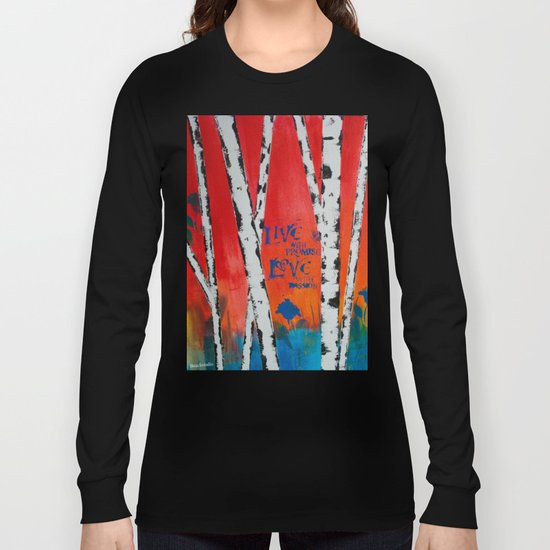 Live and Love Birch Long Sleeve T-shirt