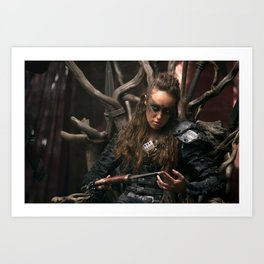 Lexa 02 Art Print