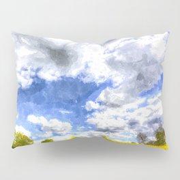 The Farm Path Art Pillow Sham