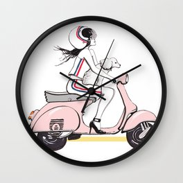 My Sweet Ride Wall Clock