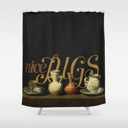 nice Jugs Shower Curtain