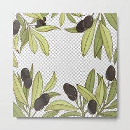 Olive Comfort Metal Print