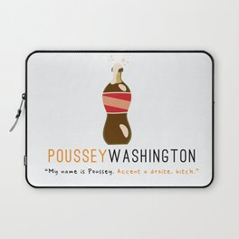Poussey | Accent a Droite (White) | OITNB Laptop Sleeve