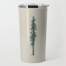 Love in the forest - tan Travel Mug