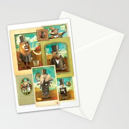 Circus-Circus: The Whole Gang Stationery Cards