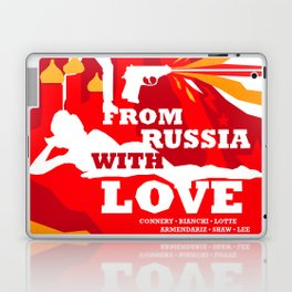 James Bond Golden Era Series :: From Russia with Love Laptop & iPad Skin