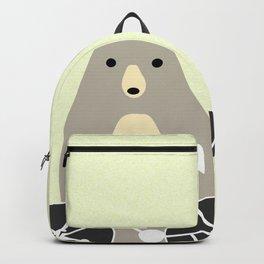 Bear with bike Backpack