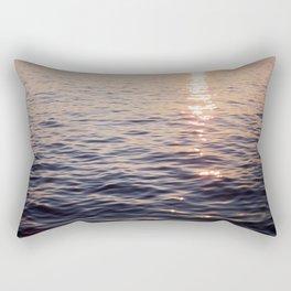 Puget Sound Sunset Rectangular Pillow