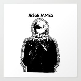 TSRL - Jesse Rutherford from THE NBHD Art Print