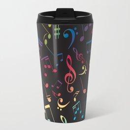 Musical Notes X Travel Mug
