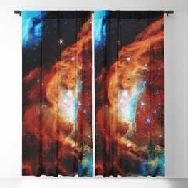 Blazing Starbirth Blackout Curtain