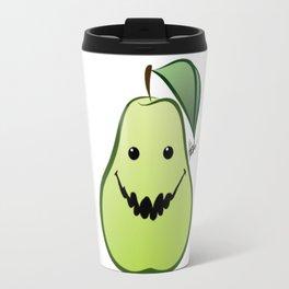 Biting Pear Travel Mug