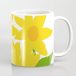 Yellow Green Good Cheer Coffee Mug