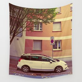 Peugeot 5008 - The Smooth Talker Wall Tapestry