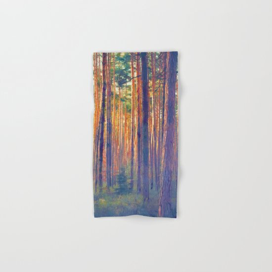 Forest - Filtering light Hand & Bath Towel