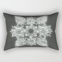 A Winged Debacle Rectangular Pillow