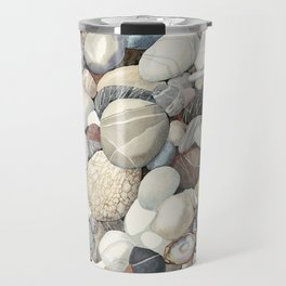 Sea shore of Crete Travel Mug