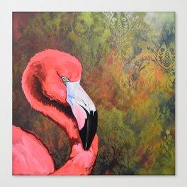 flamingo VI Canvas Print