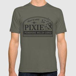 Pixie the Short and Sassy Welsh Corgi T-shirt
