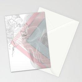 Skull Doodle Stationery Cards