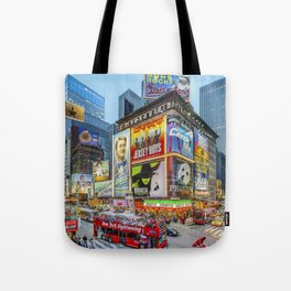Times Square III Special Edition I Tote Bag