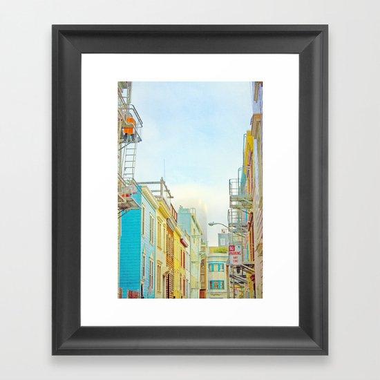 SF Tops 1 Framed Art Print