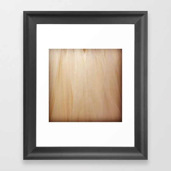 Tulle Framed Art Print