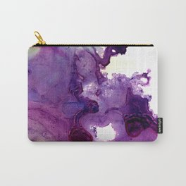 Purple composition Carry-All Pouch