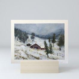 Mid Winter Mini Art Print