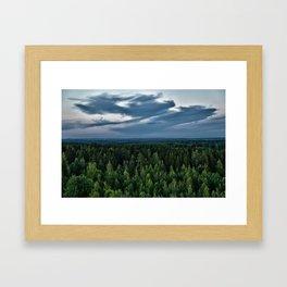Above Almost All Framed Art Print