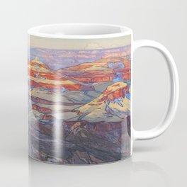 Grand Canyon Hiroshi Yoshida Vintage Japanese Woodblock Print Coffee Mug