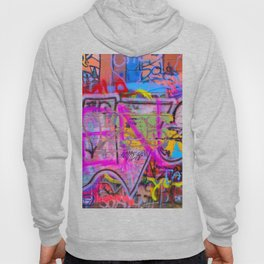 Bright Graffiti Hoody