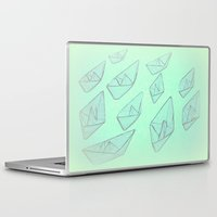 boats Laptop & iPad Skins featuring 'Boats' by Mr and Mrs Quirynen
