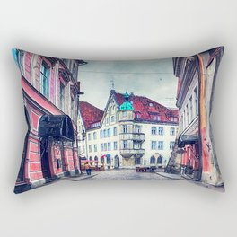 Tallinn art 11 #tallinn #city Rectangular Pillow